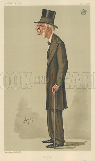 General Viscount Templetown, Upty, 18 August 1888, Vanity Fair cartoon.
