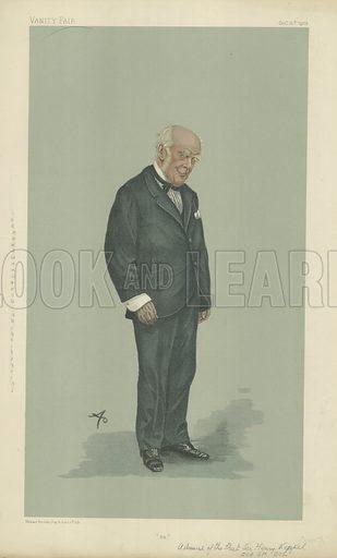 Admiral of the Fleet The Hon Sir Henry Keppel, 94, 15 October 1903, Vanity Fair cartoon.