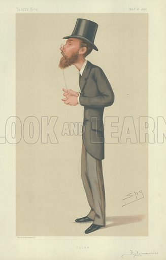 Lord Edmond George Fitzmaurice, Calne, 16 February 1878, Vanity Fair, cartoon.
