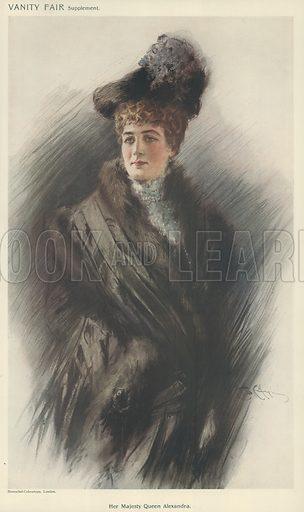 Alexandra, picture, image, illustration