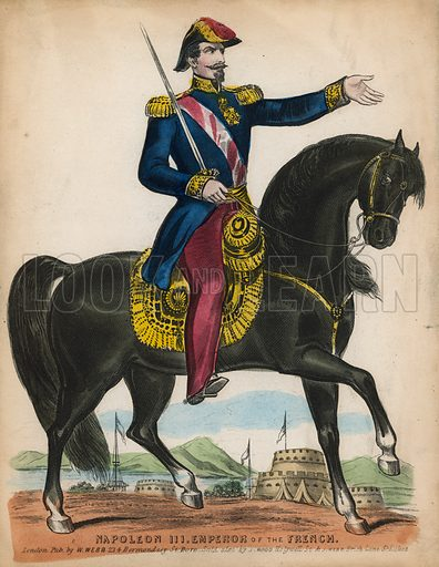 Napoleon III, picture, image, illustration
