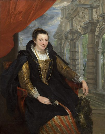 Isabella Brant. Date: 1621. Accession number: 1937.1.47.