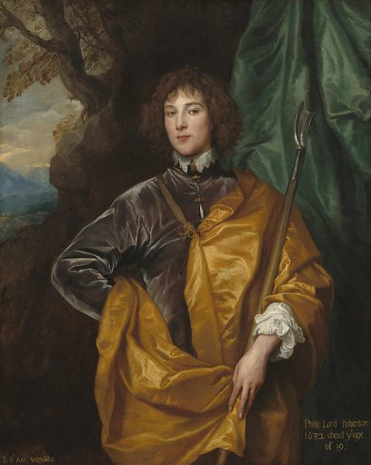 Philip, Lord Wharton. Date: 1632. Accession number: 1937.1.50.