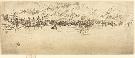 Long Venice. Date: 1879/1880. Accession number: 1942.15.29.