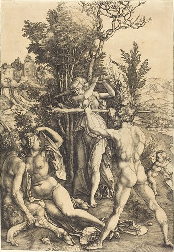 Hercules at the Crossroad. Date: 1498/1499. Accession number: 1943.3.3482.