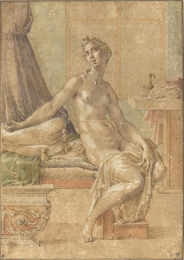 Lucretia. Date: probably c 1539. Accession number: 1971.82.1.