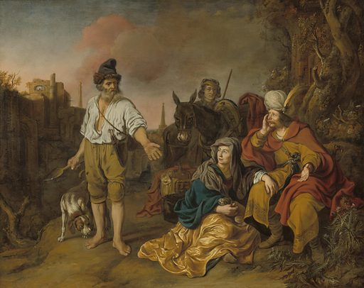 The Levite at Gibeah. Date: early 1640s. Accession number: 1996.99.1.