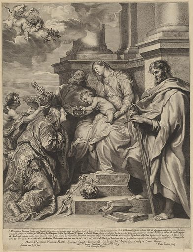 Saint Rosalia Crowned by the Child Jesus. Accession number: 2008.91.3.