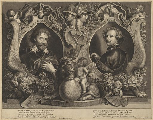 Rubens and van Dyck, a Double Portrait. Accession number: 2008.91.5.
