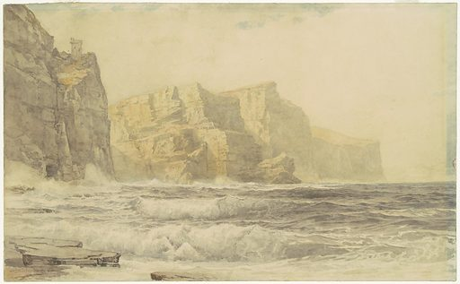 Baldart Castle, Kilkee, County Clare, Ireland. Date: 1892. Accession number: 2015.19.2479.