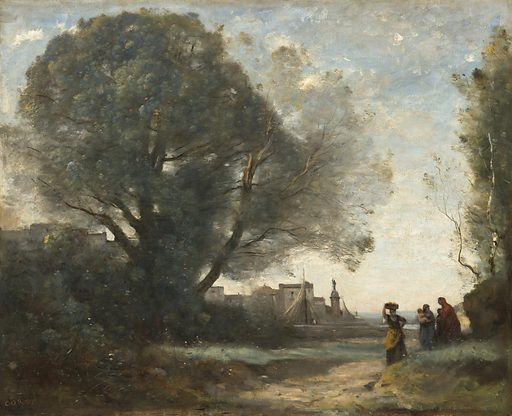Souvenir of Terracina. Date: 1864, reworked slightly later. Accession number: 2014.136.26.