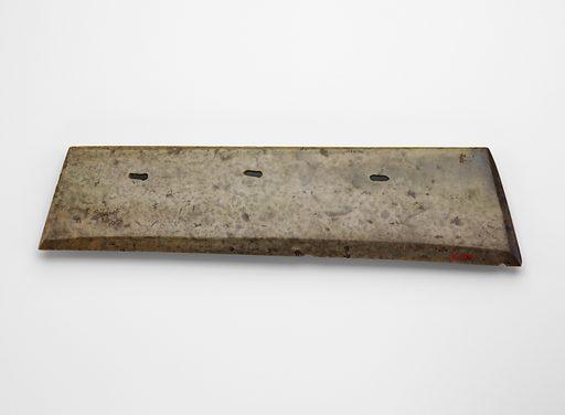 Harvesting knife (hu 笏). Date: BCE 2000s. Record ID: fsg_F1916.167.