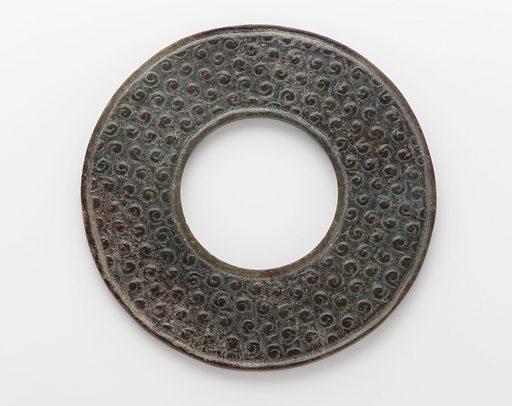 Disk (bi). Date: BCE 0s. Record ID: fsg_F1919.29.