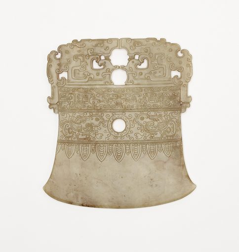 Axe-shaped ornament. Date: 1790s. Record ID: fsg_F1919.40.