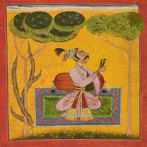 Raja Mandhata as a musical mode. Date: 1700s. Record ID: fsg_F2017.13.3.