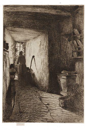 The Kitchen. Date: 1850s. Record ID: fsg_F1888.15.