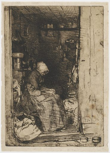La Vieille aux Loques. Date: 1850s. Record ID: fsg_F1890.1.