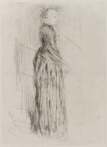 The Little Velvet Dress. Date: 1870s. Record ID: fsg_F1893.50.
