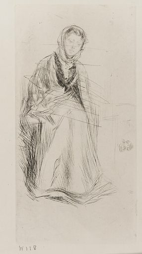 The Scotch Widow. Date: 1870s. Record ID: fsg_F1893.59.