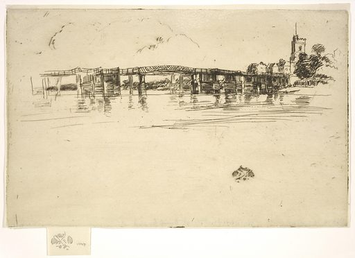 Little Putney Bridge. Date: 1870s. Record ID: fsg_F1898.373.