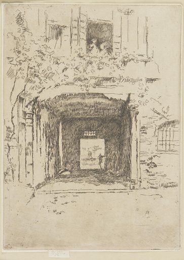 Doorway and Vine. Date: 1880s. Record ID: fsg_F1902.231.