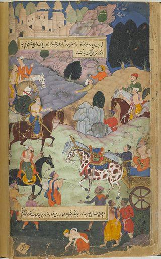 The Ramayana (Tales of Rama; The Freer Ramayana), Volume 1. Date: 1590s. Record ID: fsg_F1907.271.1-172.