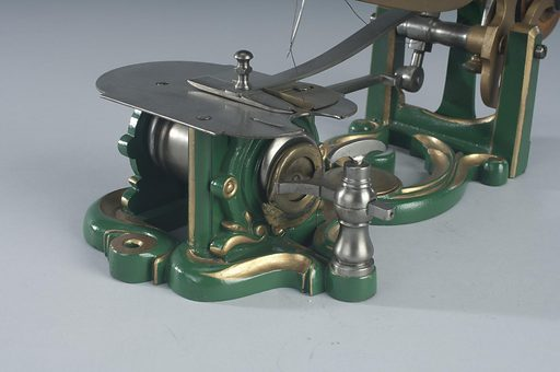 Sewing Machine Patent Model. Date: 1850s. Record ID: nmah_1071023.