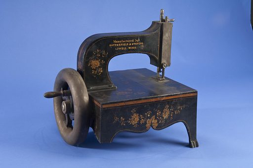 Sewing Machine Patent Model. Date: 1850s. Record ID: nmah_1070428.