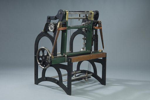 Fancy Power Loom Patent Model. Date: 1830s. Record ID: nmah_1071095.