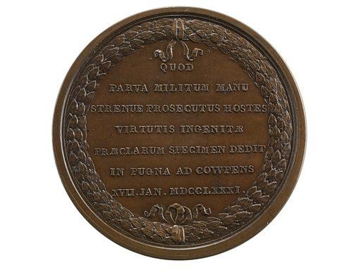William Washington at the Cowpens, France, 1781 (Paris Mint, original dies). Date: 1780s. Record ID: nmah_1097226.