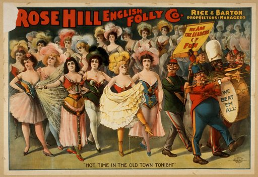 Rose Hill English Folly Co Date c1899.