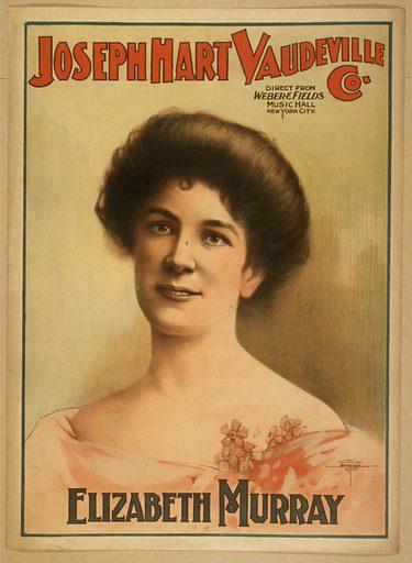 Joseph Hart Vaudeville Co direct from Weber & Fields Music Hall, New York City. Date c1899.