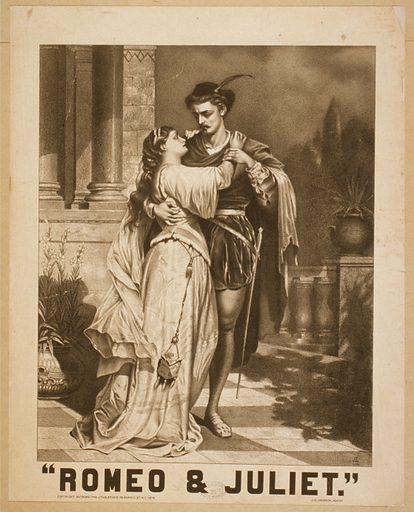 Romeo & Juliet. Date c1879