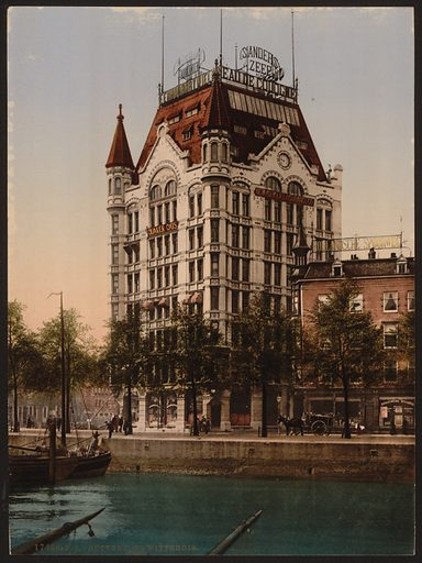 Whitehouse (office building), Rotterdam, Holland. Date between ca 1890 and ca 1900.