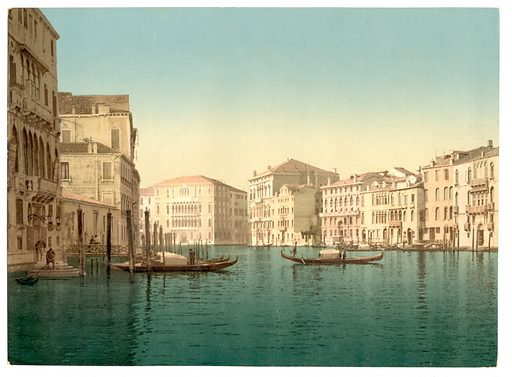 Grand Canal, Venice, Italy. Date between ca. 1890 and ca. 1900.