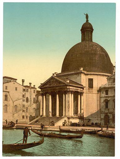 San Simeone Piccolo, Venice, Italy. Date between ca. 1890 and ca. 1900.