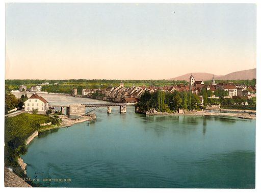 Rheinfelden, Aargau, Switzerland. Date between ca. 1890 and ca. 1900.