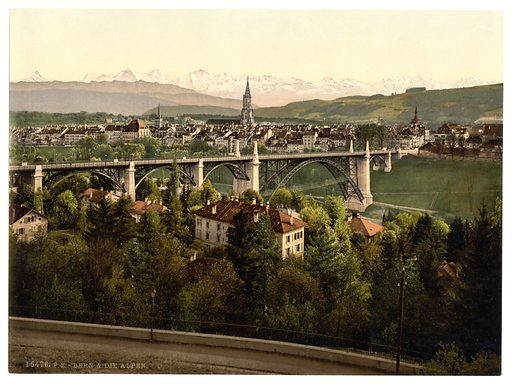 The Alps, Berne, Switzerland. Date between ca. 1890 and ca. 1900.