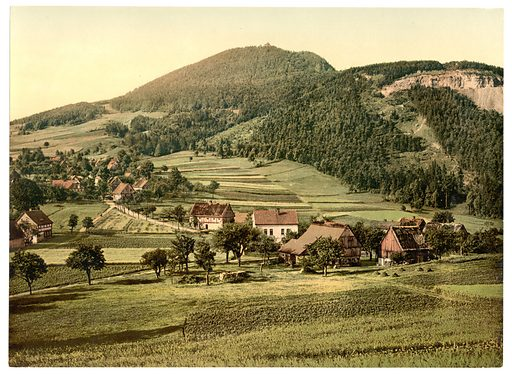 Bernese Alps, Bernese Oberland, Switzerland. Date between ca. 1890 and ca. 1900.