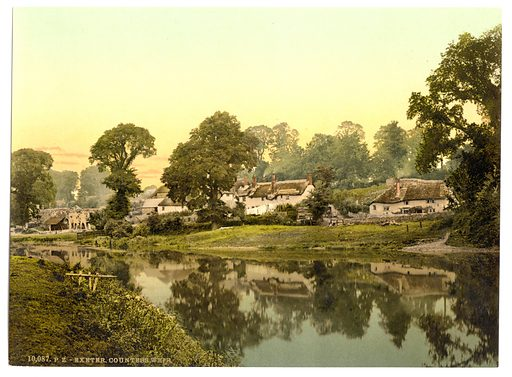 Countess Weir, Exeter, England. Date between ca 1890 and ca 1900.