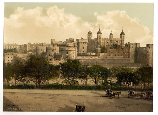 The tower, London, England