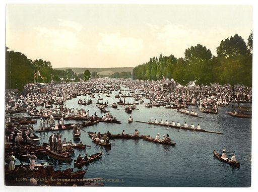 Henley Regatta, I, London and suburbs, England. Date between ca 1890 and ca 1900.