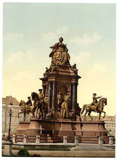 Maria Theresa Monument, picture, image, illustration