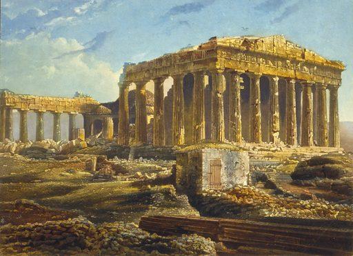 View of the Parthenon, Athens, Greece
