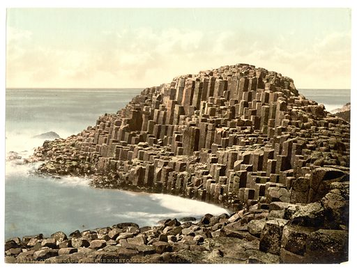 Giant's Causeway, picture, image, illustration