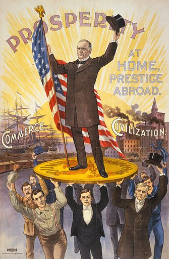 President McKinley, picture, image, illustration