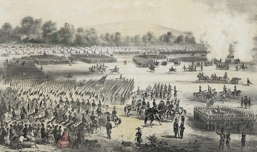 Camp Massachusetts at Concord, Sept. 7,8 & 9, 1859.