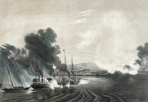 The capture of the city of tabasco, by the US naval expedition, afloat and on shore, under Comdre. Perry.