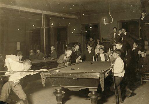 Newsboy Club. Boston 1915 Exhibit