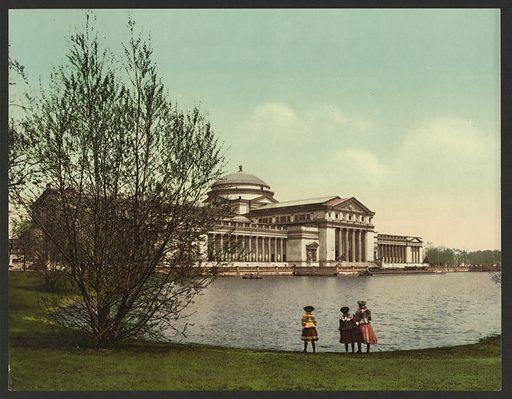 Field Columbian Museum, Jackson Park, Chicago. Date c1901.